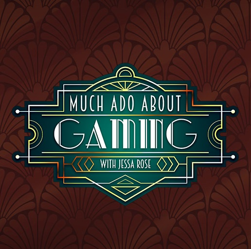 The logo for Much Ado About Gaming