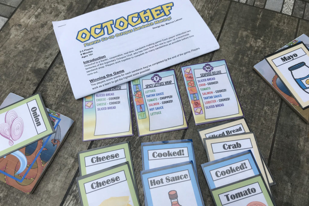 Octochef rules and cards